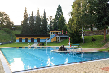 Freibad in Sankt Oswald