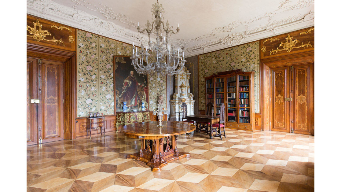 Schloss Hollenegg Salon | © Liechtenstein